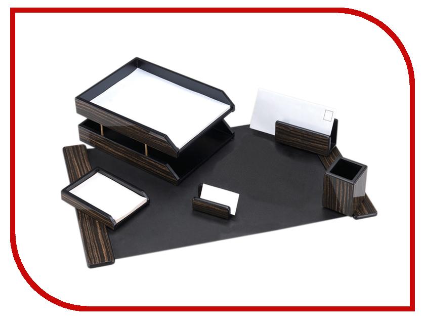 Настольный набор Delucci MBn_06212 Ebonite Wood 255635