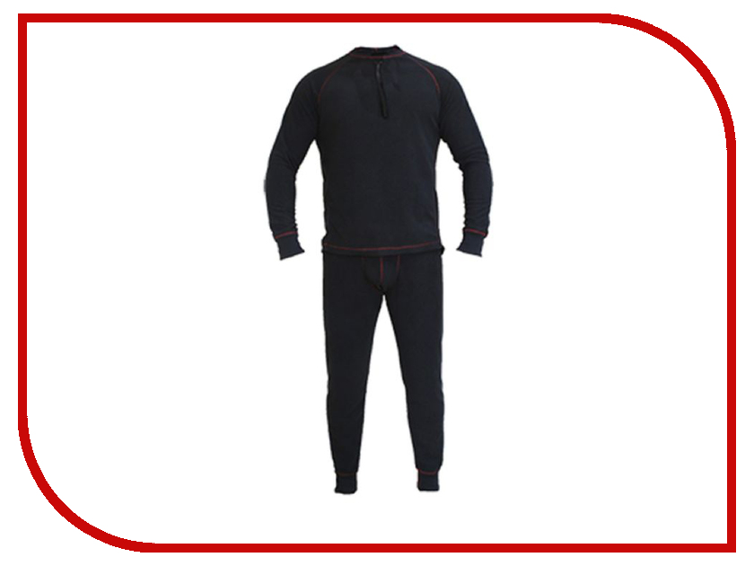 Термобелье Huntsman Zip S р.44-46 Black
