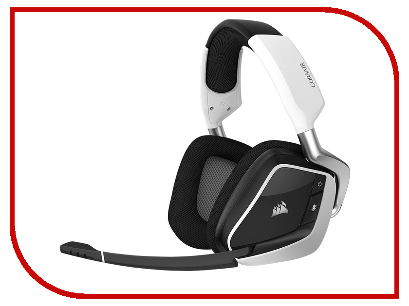 Corsair Gaming Void PRO RGB Wireless Dolby 7.1 White CA-9011153-EU r horse fc 1616 stylish usb wired 2000dpi gaming mouse w rgb led light black white