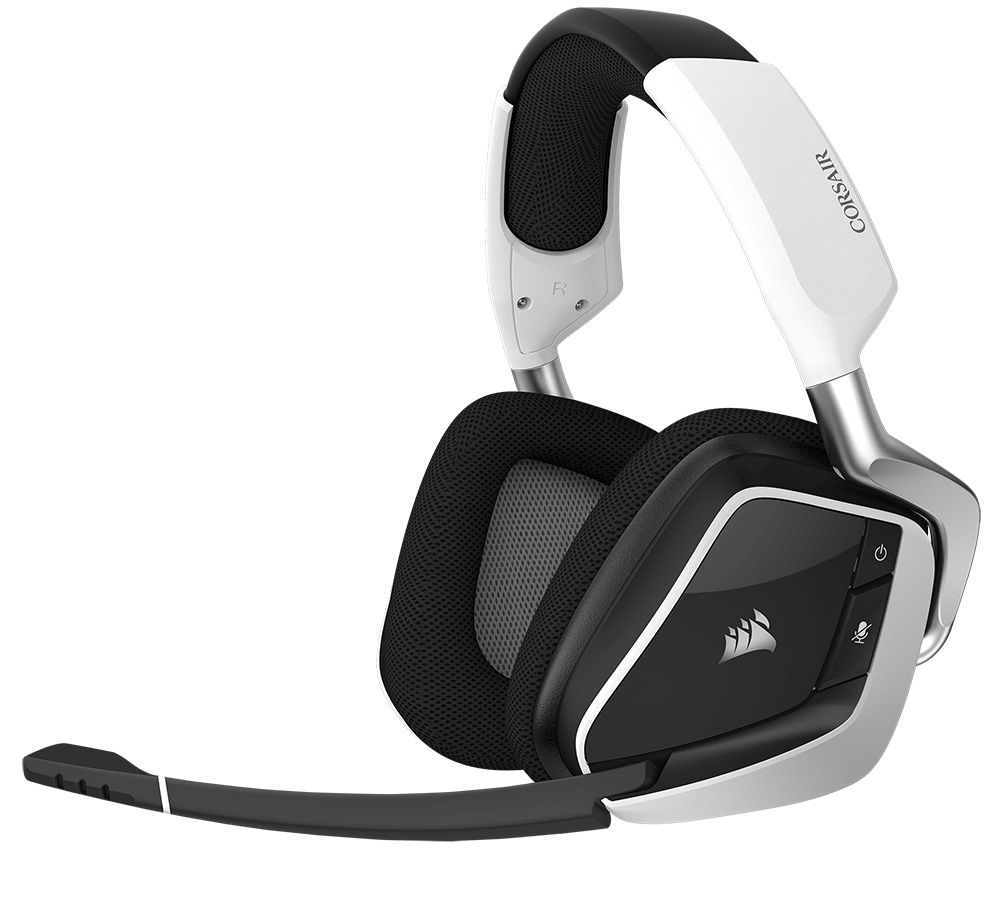 Corsair Gaming Void PRO RGB Wireless Dolby 7.1 White CA-9011153-EU от Corsair