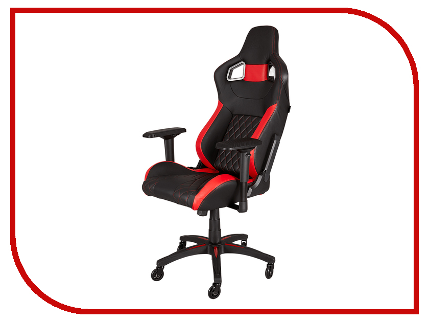 Компьютерное кресло Corsair Gaming T1 Race Black-Red CF-9010003-WW t1 spacecam