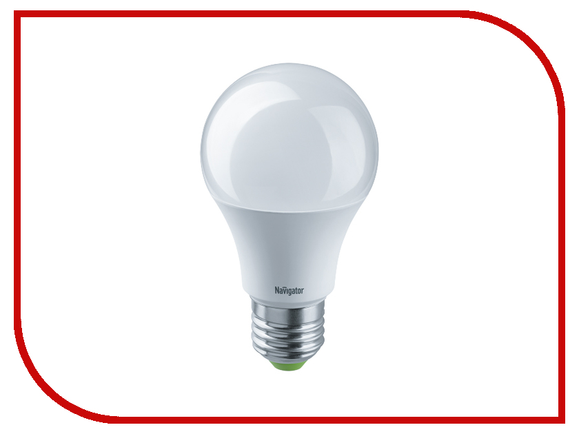 Лампочка Navigator 61 474 NLL-A60-7-24/48-4K-E27 лампочка экономка a60 14w e27 230v 4500k ecol14wa60230ve2745