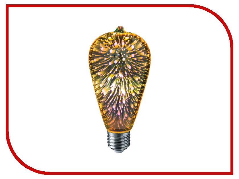 Лампочка Navigator 61 486 NLL-3D-ST64-4-230-E27 звонок дверной navigator 61 276 ndb d dc05 1v2 wh