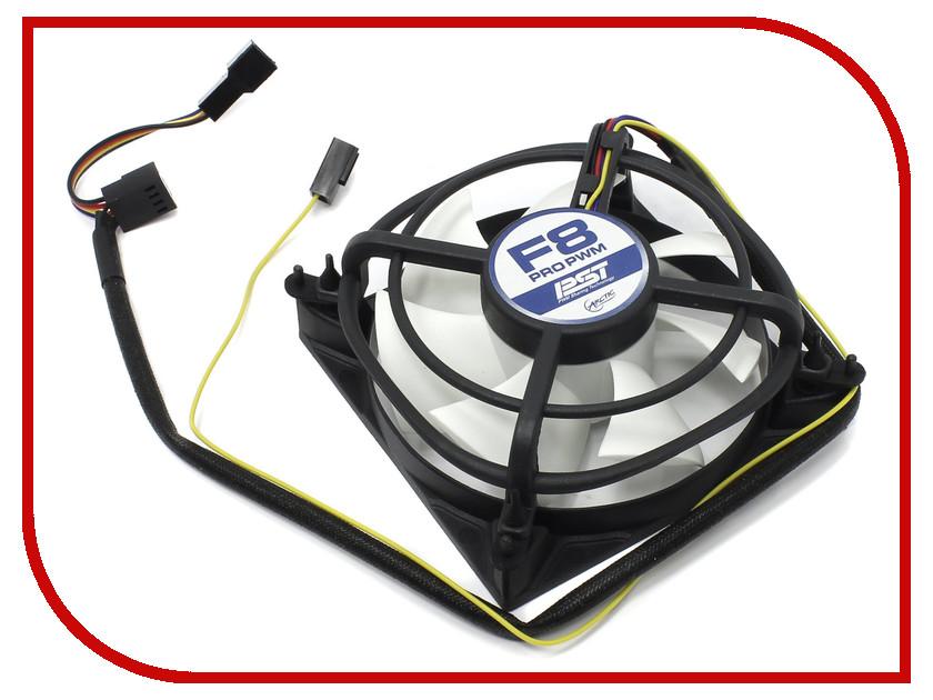 все цены на Вентилятор Arctic Cooling F8 Pro PWM PST 80mm AFACO-08PR0-GBA01 онлайн