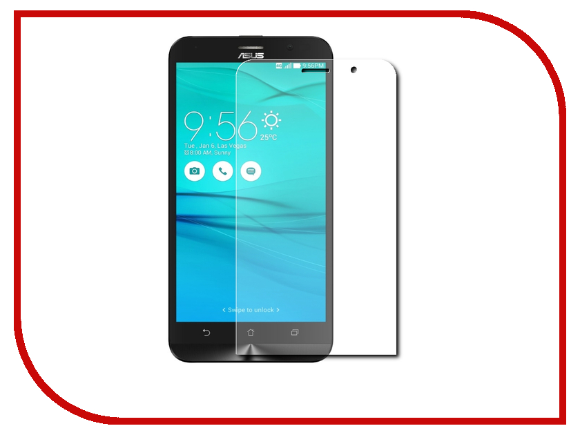 Аксессуар Защитное стекло для ASUS ZenFone Go ZB500KL/ZB500KG Red Line Tempered Glass УТ000010286 mos rc lipo battery 22 2v 12000mah 25c 6s for airplane drone quadrotor car boat factory outlet free shipping