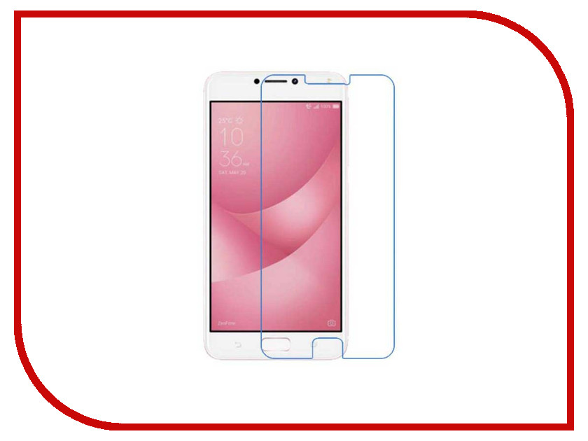 Аксессуар Защитное стекло ASUS ZenFone 4 Max ZC554KL Red Line Tempered Glass аксессуар защитное стекло htc desire 830 red line tempered glass
