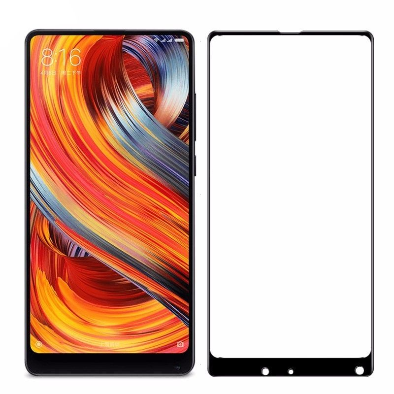 Защитное стекло Red Line для Xiaomi Mi Mix 2 Full Screen Tempered Glass Black УТ000013446