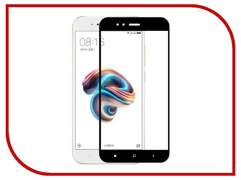 Аксессуар Защитное стекло Xiaomi Mi A1 / Mi5X Red Line Full Screen Tempered Glass Black аксессуар защитное стекло xiaomi redmi note 3 5 5 red line tempered glass