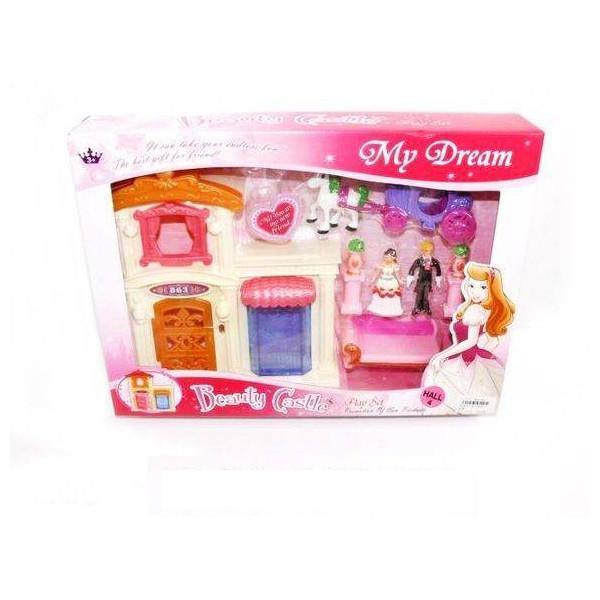 Кукольный домик Shantou Gepai / Наша игрушка SG-2949