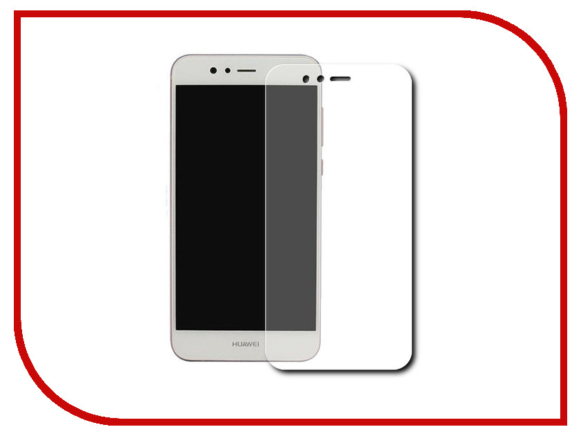 Аксессуар Защитная пленка Huawei Nova 2 Red Line protective pvc back case for htc one x s720e white