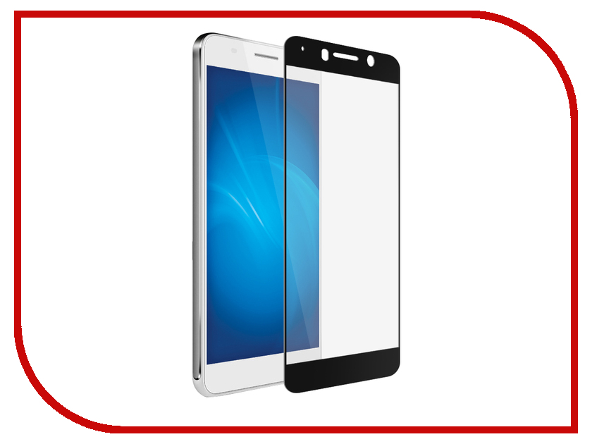 Аксессуар Защитное стекло для Huawei Honor 6A Red Line Full Screen Tempered Glass Black УТ000012416 lt 3500 6a led rgb music controller dc5 24v input max 6a 3channel output support audio line with ir remote control diy effect