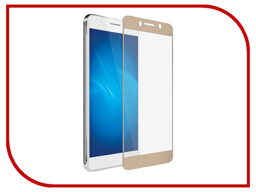 Аксессуар Защитное стекло Huawei Honor 6A Red Line Full Screen Tempered Glass Gold защитные стекла liberty project защитное стекло lp для nokia 630 tempered glass 0 33 мм 9h ударопрочное
