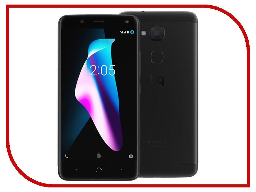 Сотовый телефон BQ Aquaris V 3Gb RAM 32Gb Deep Black сотовый телефон philips e311 xenium navy