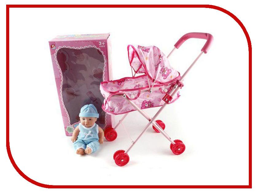 Кукла Shantou Gepai Младенец в коляске F1277-3 кукла младенец леон 4055b