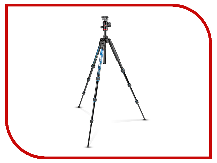 Штатив Manfrotto Befree Advanced Travel Twist MKBFRTA4BL-BH Blue