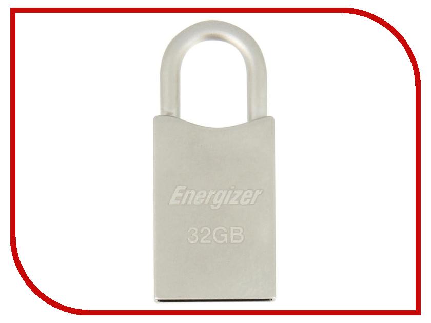 USB Flash Drive 32Gb - Energizer HighTech Metal FUSMTH032R фонарь energizer vision hd focus headlight