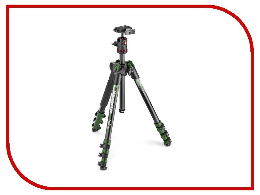все цены на Штатив Manfrotto Befree MKBFRA4GR-BH Green онлайн