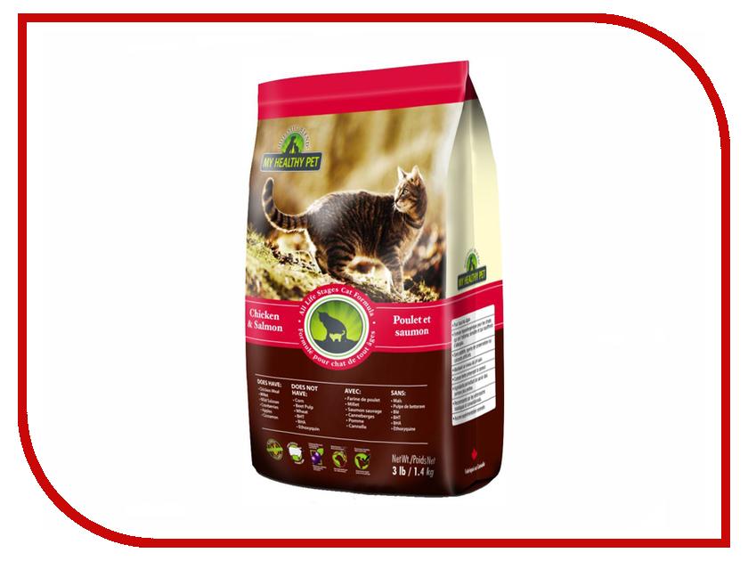 Корм Holistic Blend Курица и лосось 1.4kg для кошек корм pronature holistic утка с апельсином 2 72kg для кошек 102 2021