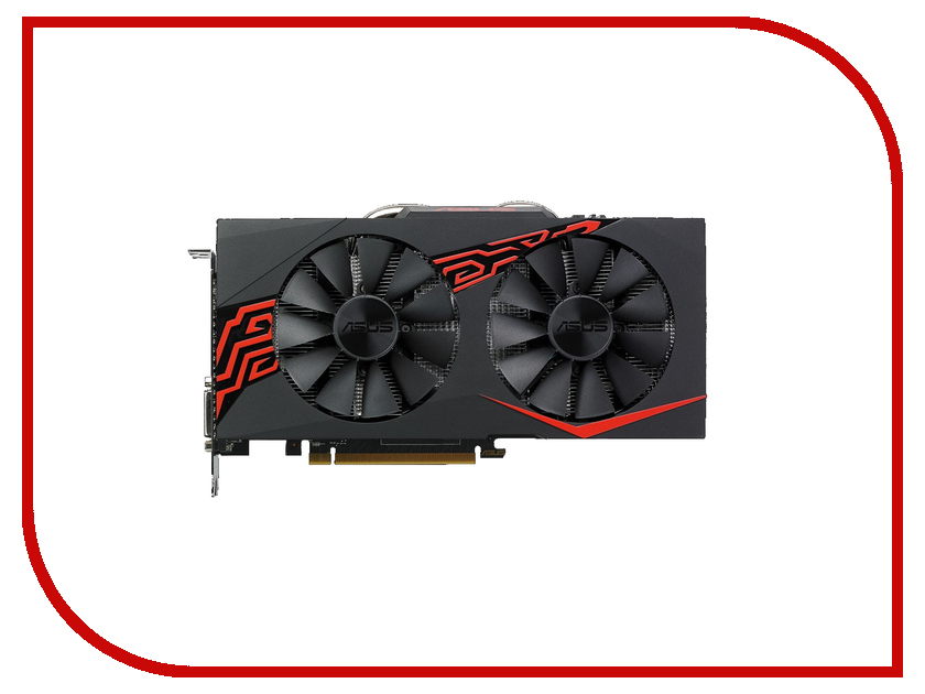 Видеокарта ASUS Radeon RX 570 1244Mhz PCI-E 3.0 4096Mb 7000Mhz 256 bit DP DVI HDMI HDCP EX-RX570-4G original x200ca mianboard for asus x200ca laptop motherboard rev 2 1 with 1007u 4g ram hm70 usb3 0 mainboard 100