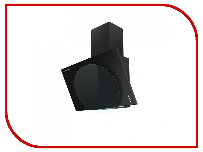 Кухонная вытяжка Maunfeld Tower L Push 50 Black-Black Glass