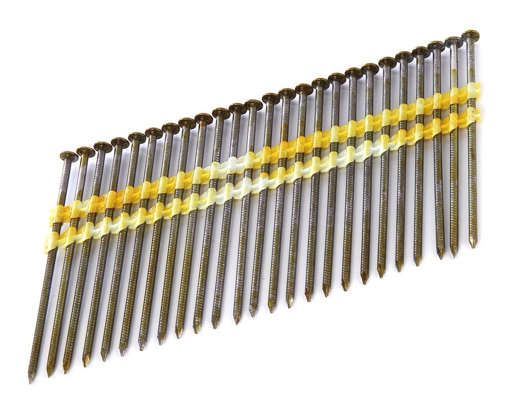 Гвозди Fubag 2.87x90mm С кольцевой накаткой 3000шт 140106