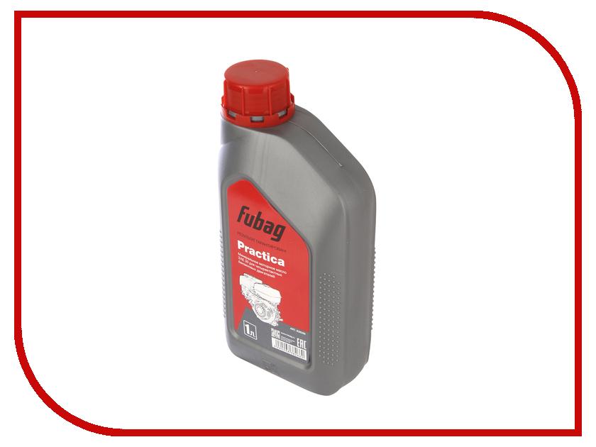 Масло Fubag Practica SAE 30 1L 838266 скобы для пневмостеплера fubag 1 05х1 25 32мм 5000шт