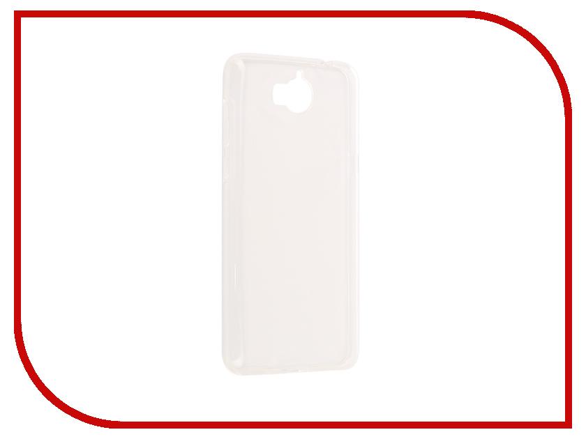 Аксессуар Чехол Huawei Y5 2017 iBox Crystal Silicone Transparent аксессуар чехол htc desire 825 ibox crystal grey