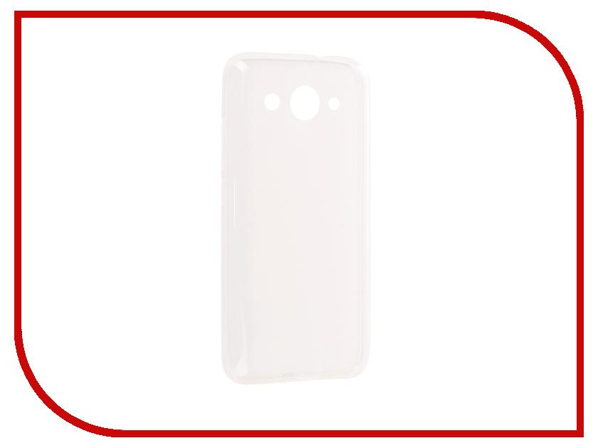 Аксессуар Чехол для Huawei Y3 2017 iBox Crystal Silicone Transparent аксессуар чехол nokia 3310 2017 ibox crystal silicone transparent