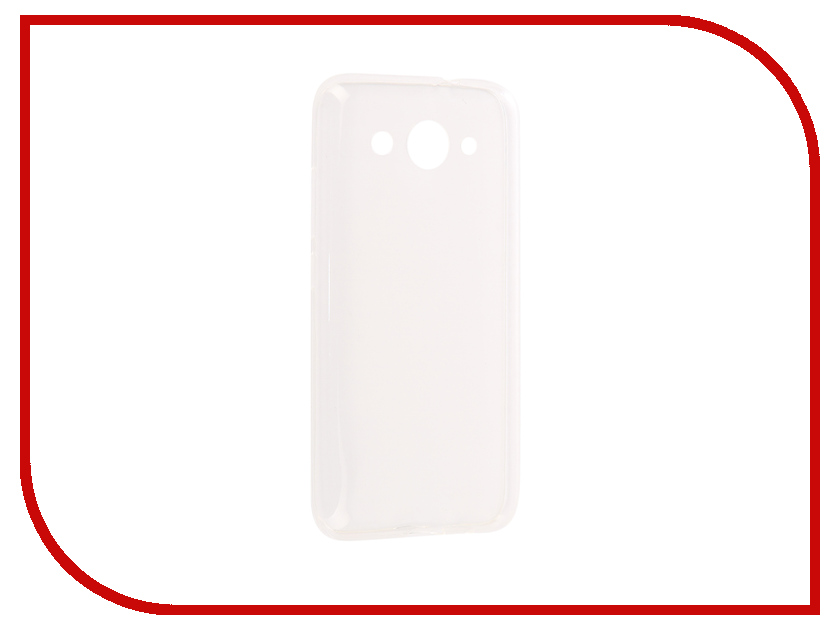 Аксессуар Чехол Huawei Y3 2017 iBox Crystal Silicone Transparent аксессуар чехол htc desire 825 ibox crystal grey