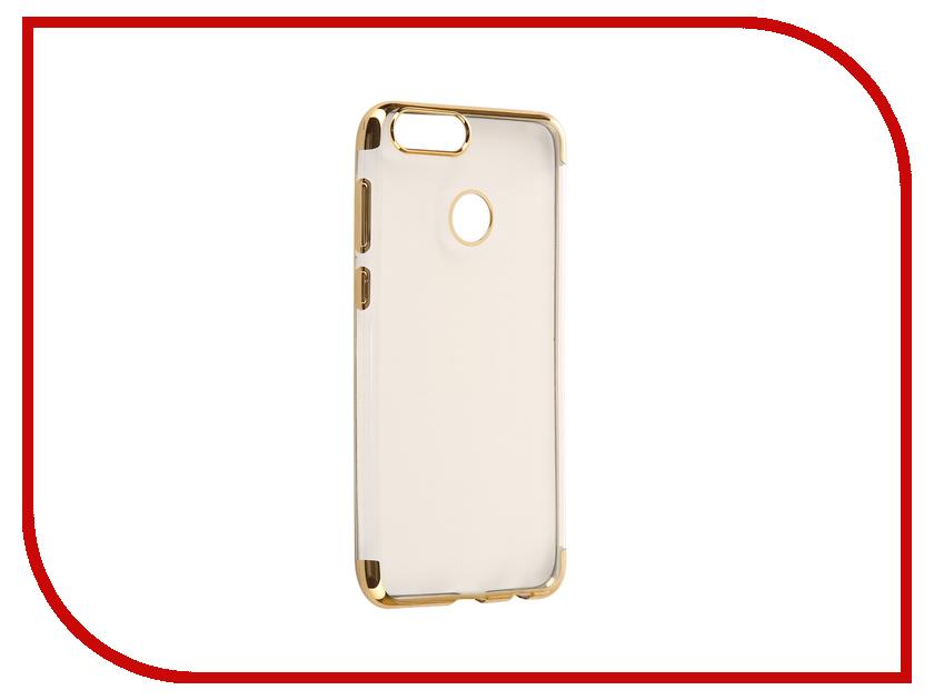 Аксессуар Чехол Huawei Honor 7X iBox Blaze Silicone Gold frame аксессуар чехол xiaomi redmi 3 3s 3 pro ibox blaze silicone gold frame