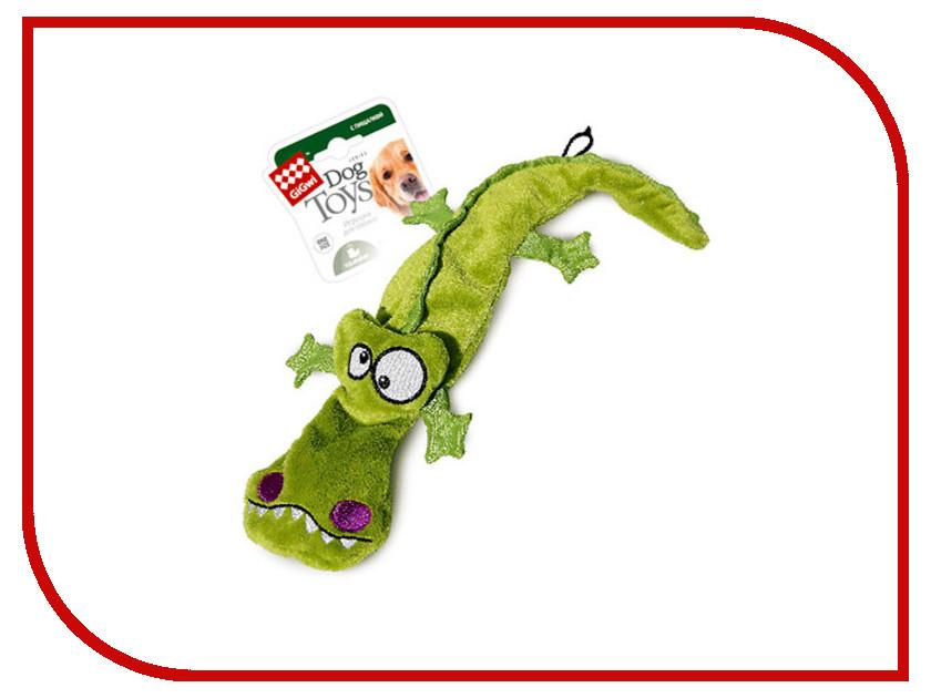 Крокодил GiGwi 75021 с пищалками