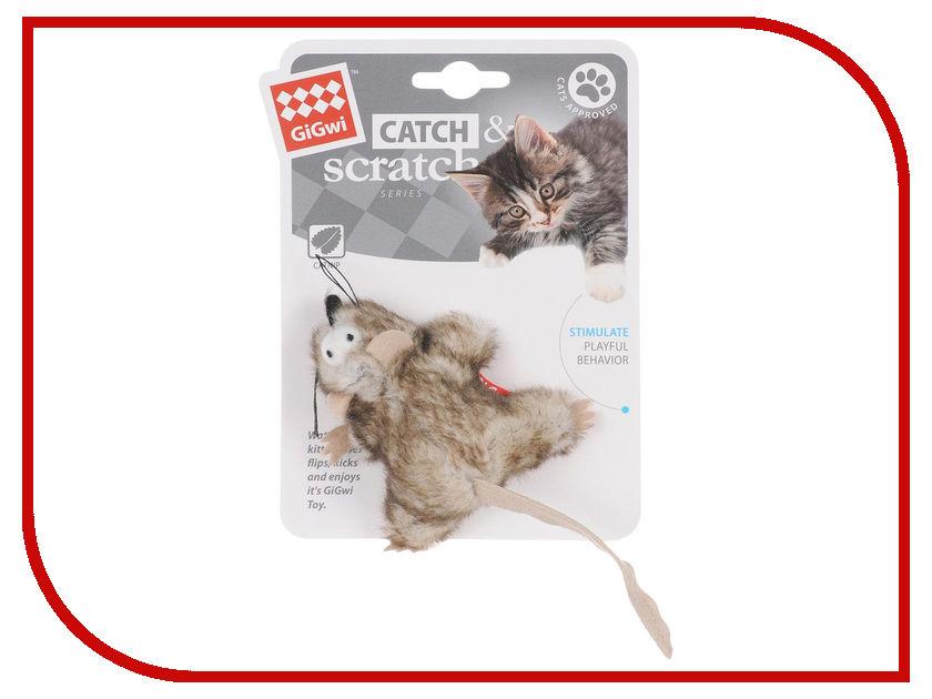Мышка GiGwi 75383 с кошачьей мятой