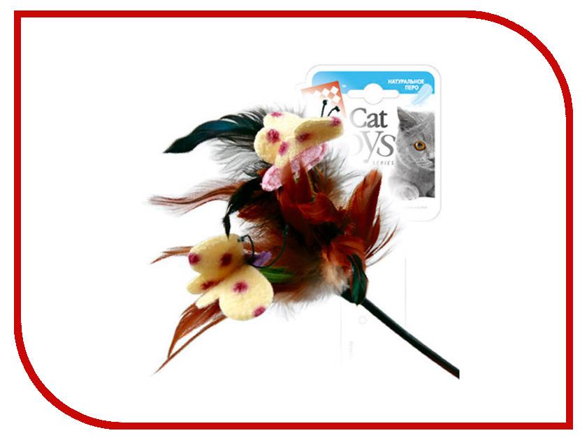 Дразнилка GiGwi 75081 с перьями
