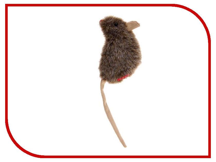 Игрушка GiGwi Мышка с кошачей мятой 75300 игрушка gigwi мышка с пером и контейнером с кошачьей мятой