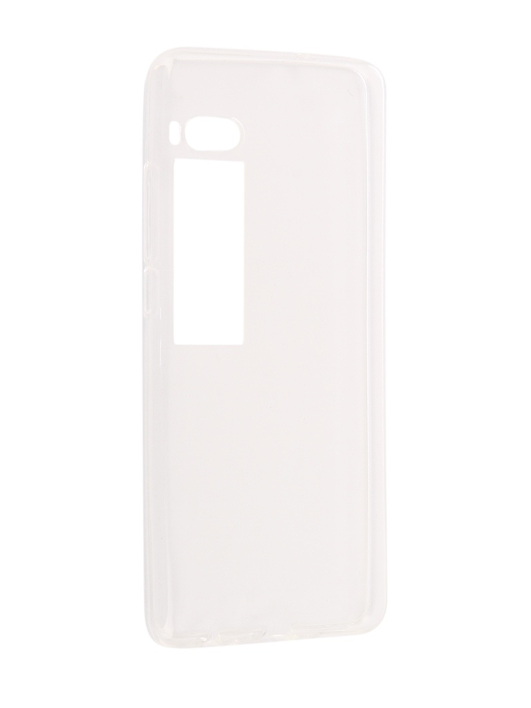 Аксессуар Чехол iBox Crystal для Meizu Pro 7 Silicone Transparent смартфон meizu pro 7 plus 64gb crystal silver