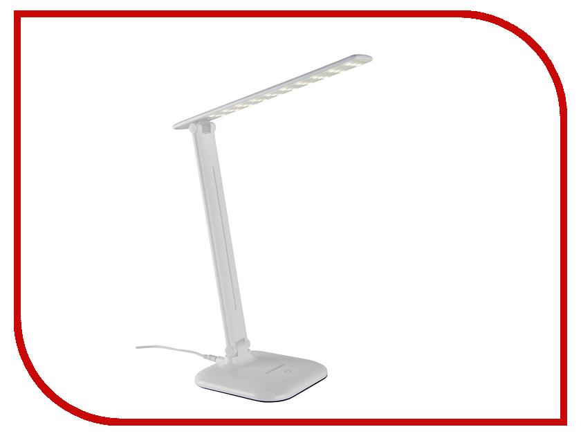 Настольная лампа Elektrostandard Alcor TL90200 White elektrostandard лампа светодиодная elektrostandard свеча на ветру сdw led d 6w 3300k e14 4690389085505