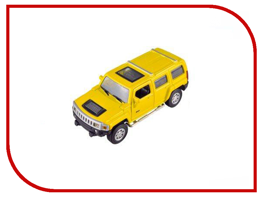 Машина Пламенный мотор Hummer H3 870131 машина welly hummer h3 43629