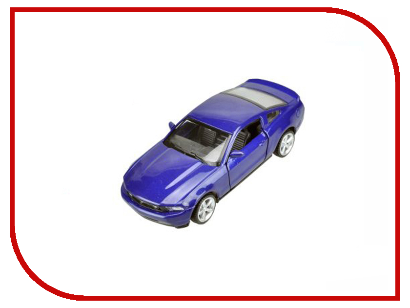 Игрушка Пламенный мотор Ford Mustang GT 870138 welly 1 24 ford mustang gt