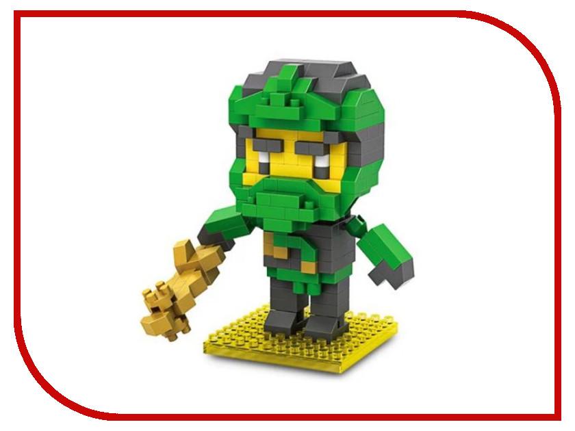 Конструктор LoZ Нинзя 230 дет. Black-Green LZ9931-5 конструктор brickmaster маяк 230 дет