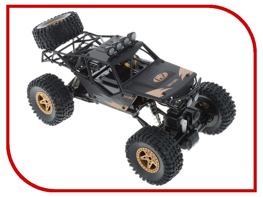 Игрушка Пламенный мотор Краулер-Багги ПМ-001 4WD Black 870238