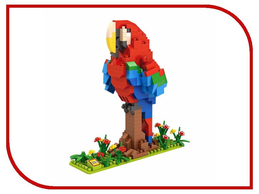 Конструктор LoZ Попугай 360 дет. LZ9547 фотошторы попугай в кактусе