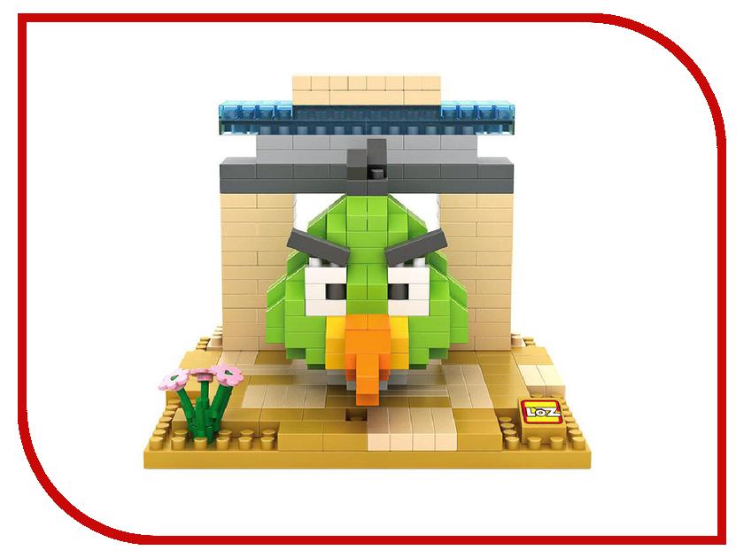Конструктор LoZ Зеленая птица 320 дет. LZ9515 конструктор fanclastic f1018 зеленая буква