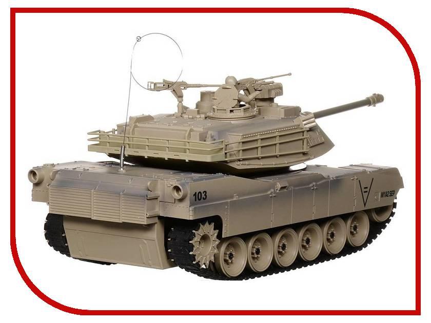 Игрушка Пламенный мотор Танк Abrams М1А2 (США) 870294 радиоуправляемый танковый бой huan qi abrams vs abrams масштаб 1 24 27mhz vs 40mhz