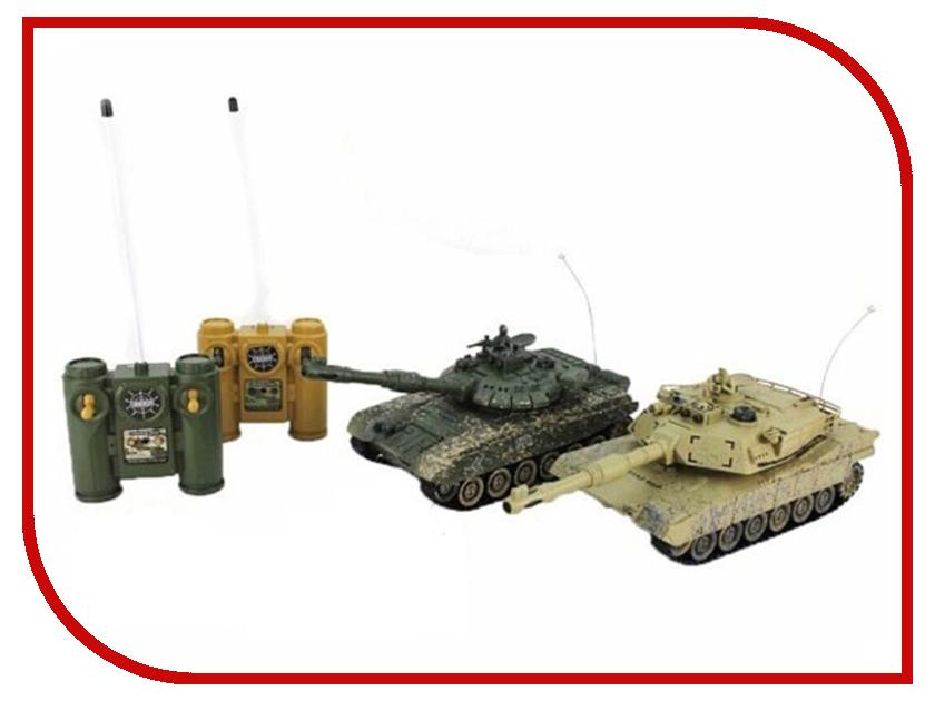 Игрушка Пламенный мотор Танковый бой Т34 - Abrams M1A2 870236 радиоуправляемый танк pilotage m1a2 abrams