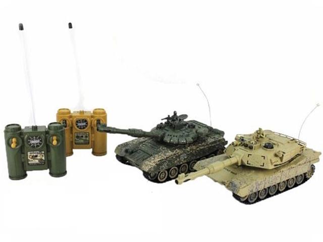 Игрушка Пламенный мотор Танковый бой Т34 - Abrams M1A2 870236 цены онлайн