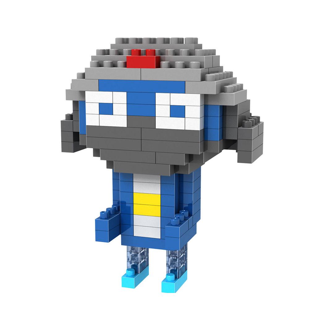Конструктор LoZ Синий человечек 130 дет. LZ9332