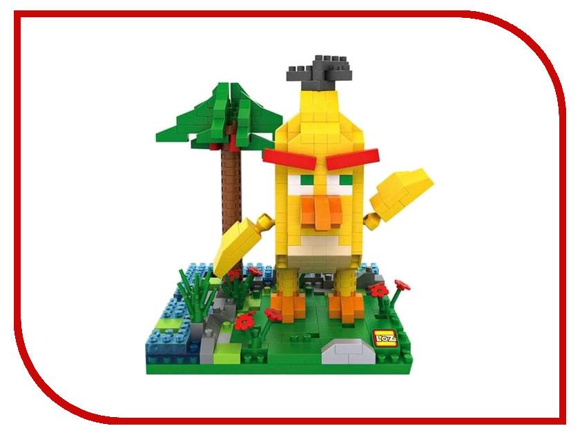 Конструктор LoZ Большая желтая птица 470 дет. LZ9648 конструктор fanclastic f1017 желтая буква