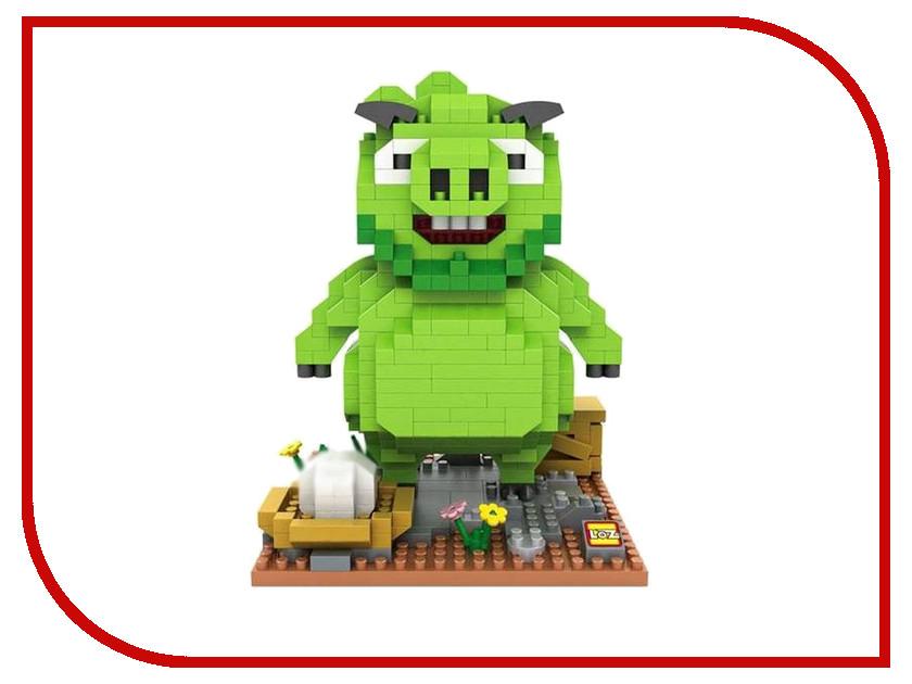 Конструктор LoZ Большой зеленый свин 550 дет. LZ9646 loz 50 деталей синий зеленый