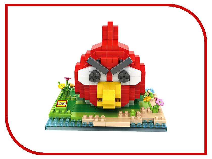 Конструктор LoZ Красная птица 370 дет. LZ9512 конструктор fanclastic f1016 красная буква