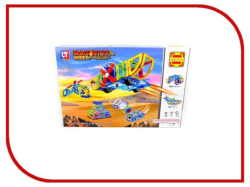 Конструктор Shantou Gepai / Наша игрушка Магнитный Техника 96 дет. LT5001 конструктор shantou gepai лесотаска багги 301 дет 6804